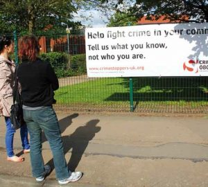 Crimestoppers ~ Working with the community in Leicester
