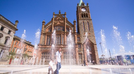 Derry: An old city with a young heart