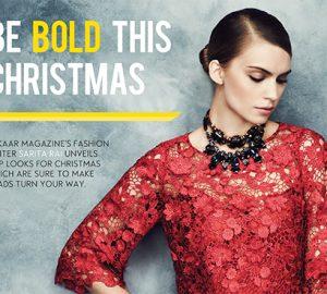 Be Bold This Christmas