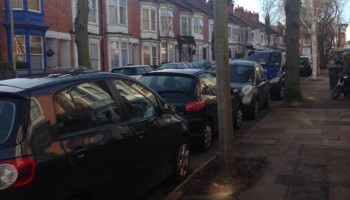 Parking nightmare for neighbourhood