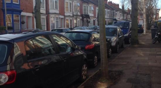 Parking nightmare for neighbourhood