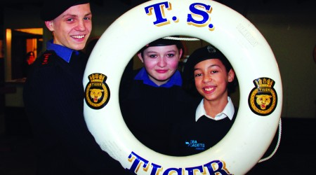 THE UK'S LARGEST NAUTICAL YOUTH CHARITY