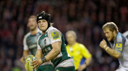 LIKE FATHER LIKE SON(S) AT LEICESTER TIGERS