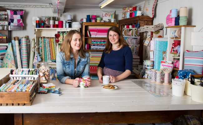 """""""WE STRUGGLED TO FIND SOMEWHERE THAT BROUGHT TOGETHER BEAUTIFUL FABRICS, INSPIRATION AND A REAL PASSION FOR SEWING."""""""